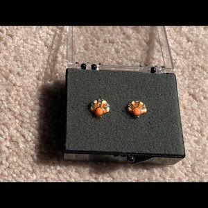 JUICY COUTURE seashell earrings